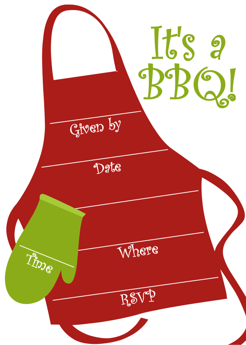 Sample from the Free BBQ and Cookout Invitations hub