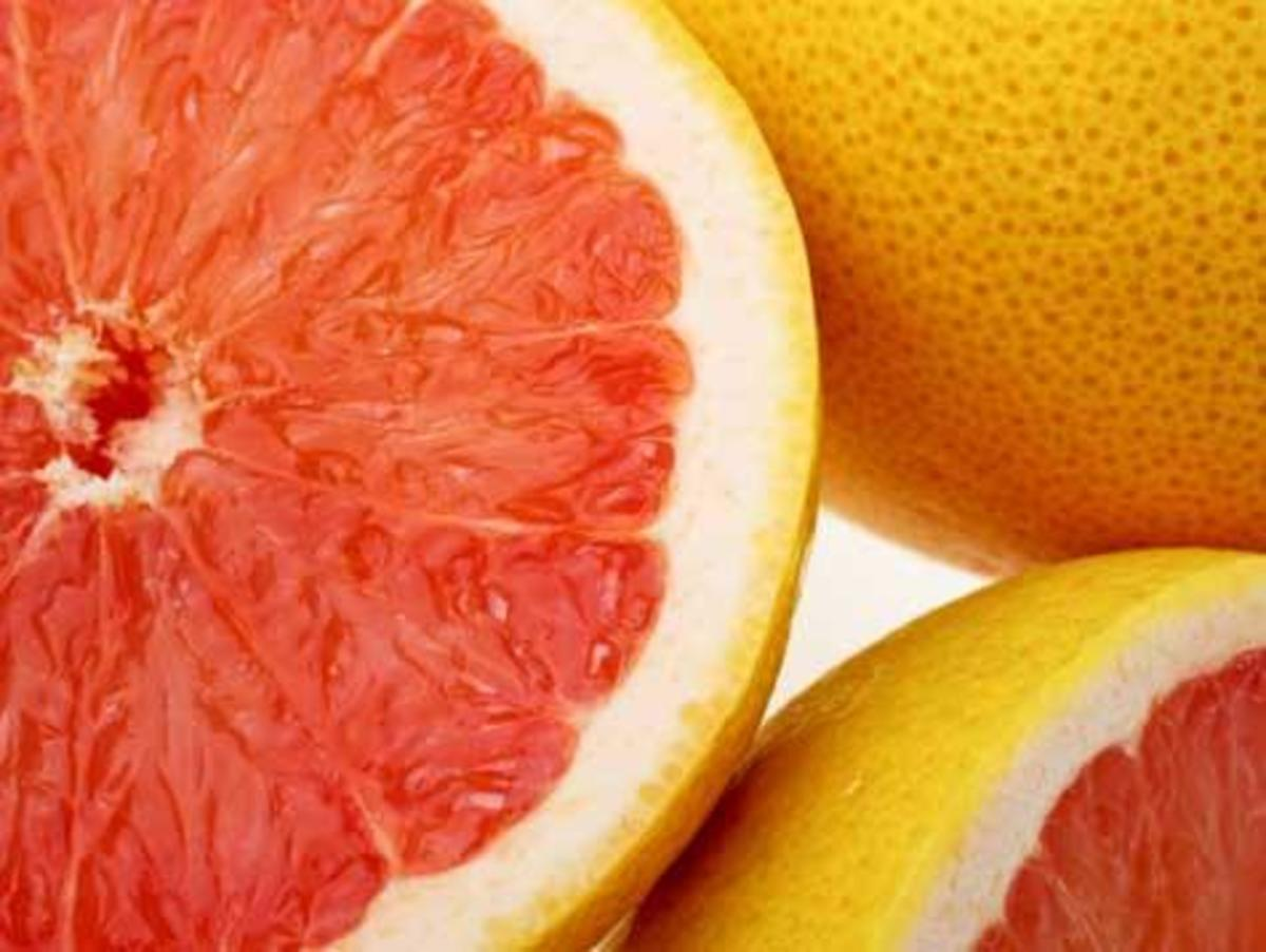 Grapefruit help to lose weight
