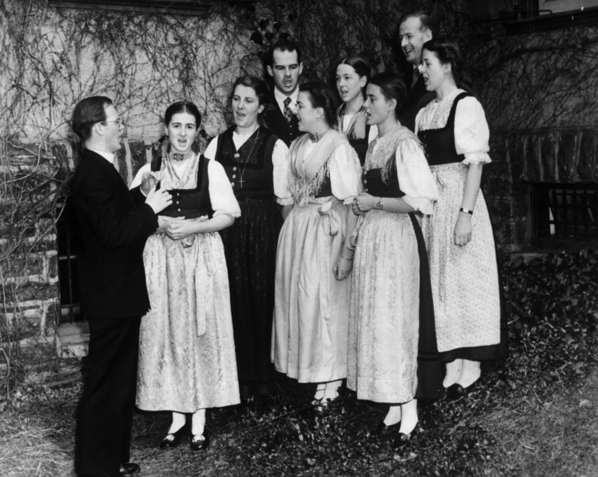 von Trapp family singers, 1941.