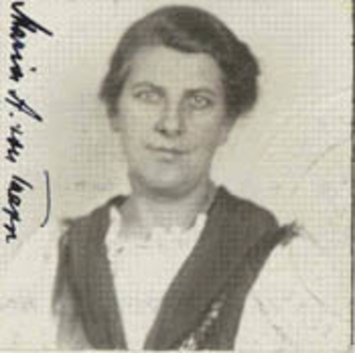 Maria von Trapp, official immigration documents