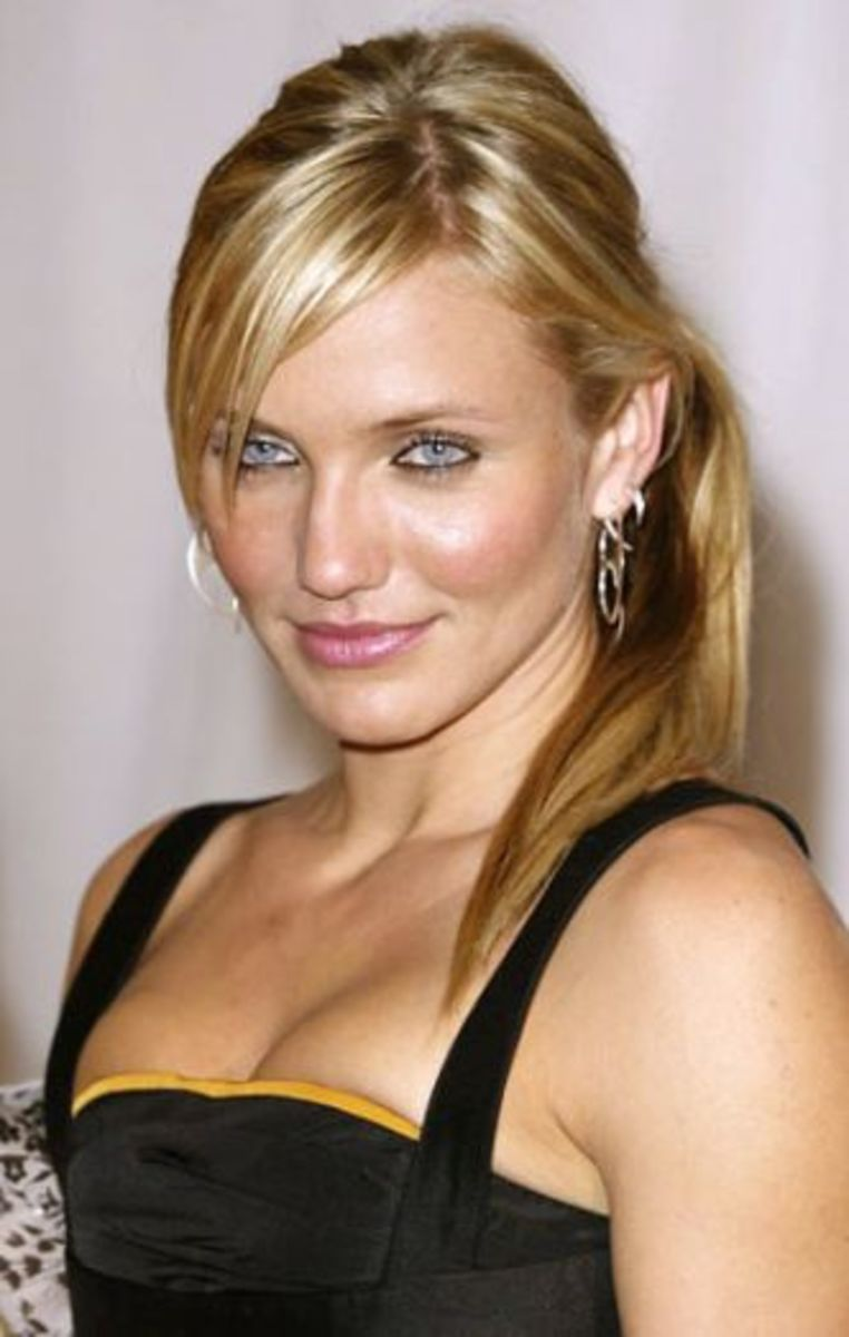 ponytail hairstyles for heart shaped faces