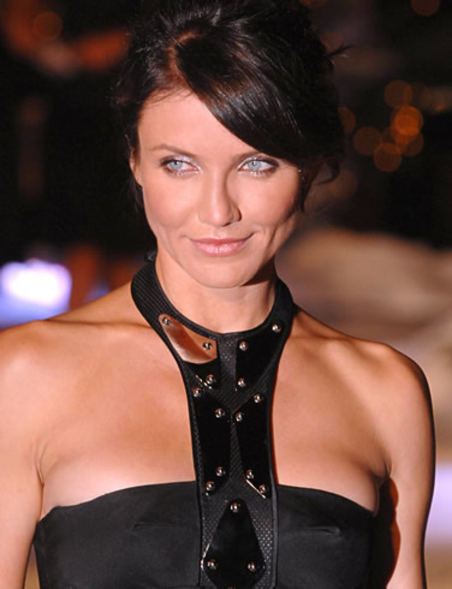 cameron diaz hairstyles for heart shaped faces