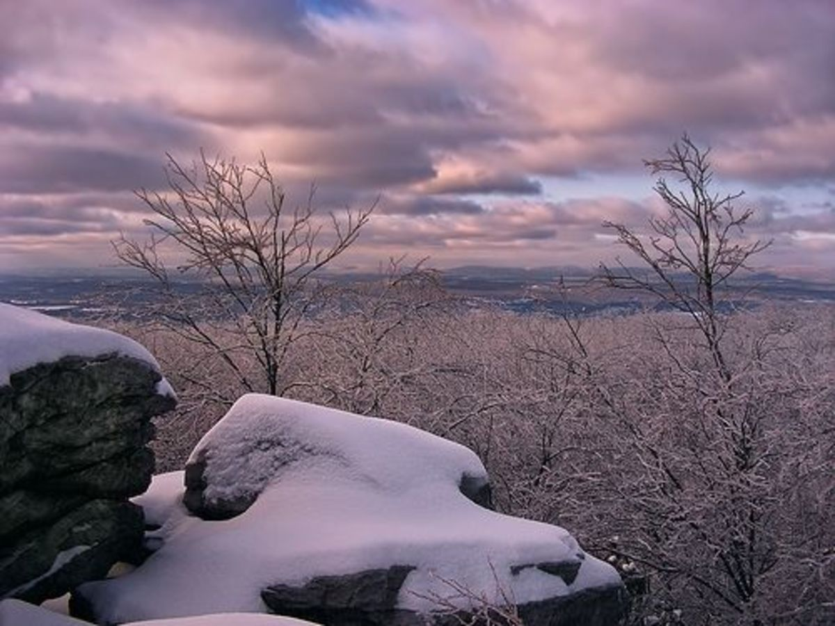 Winter on the Appalachian Trail