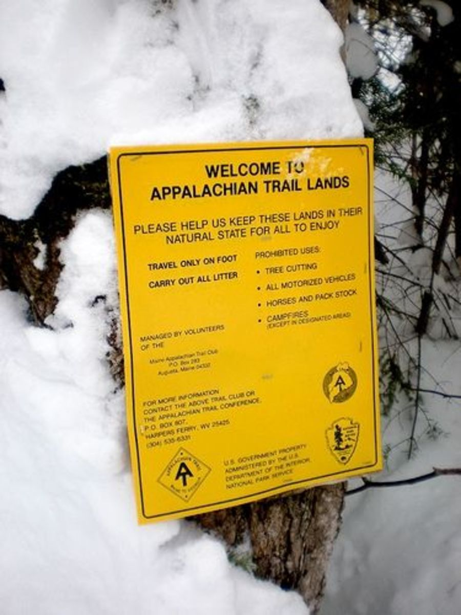 Welcome to Winter on the Appalachian Trail