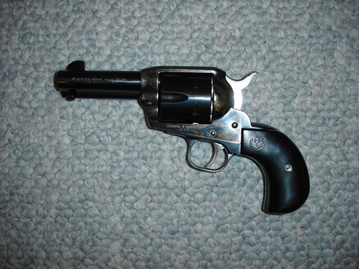 Ruger birdshead revolver