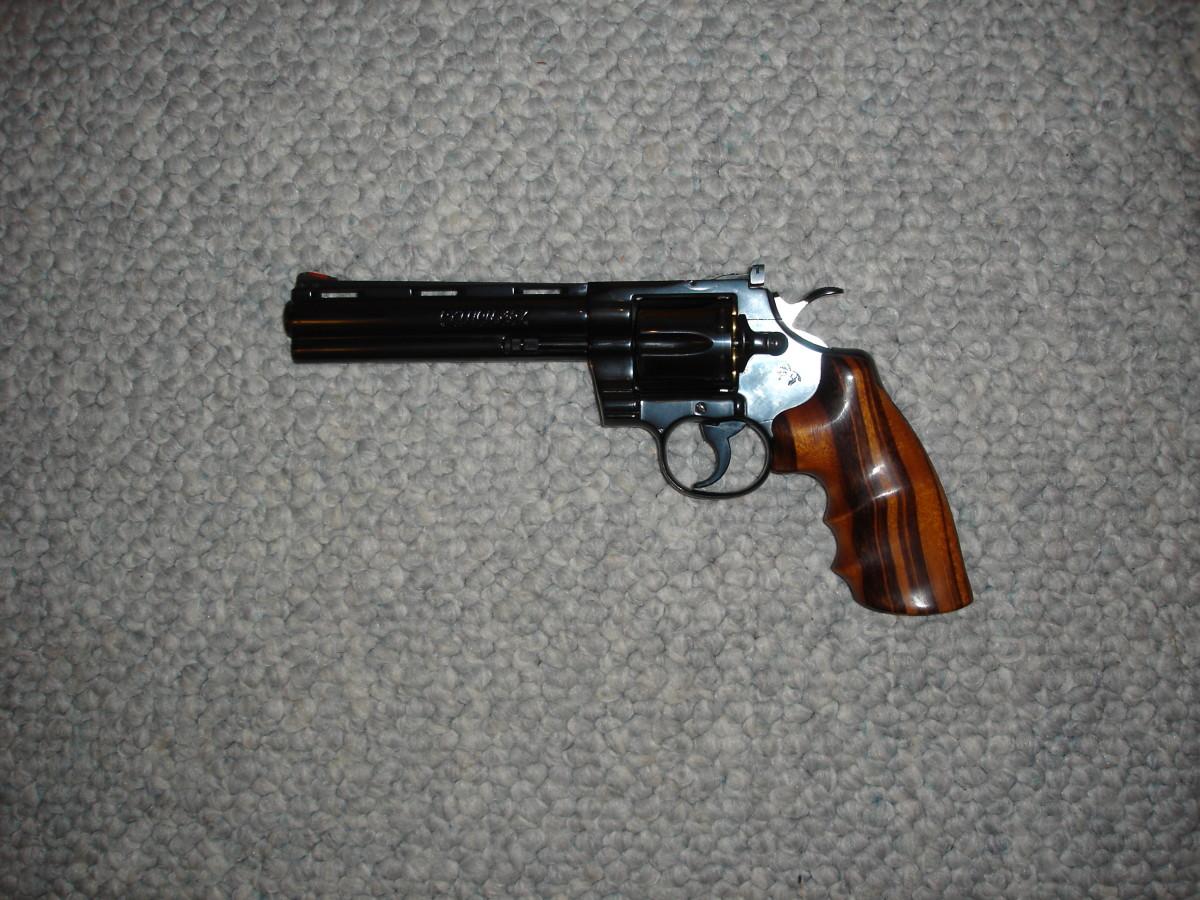 Colt Python revolver