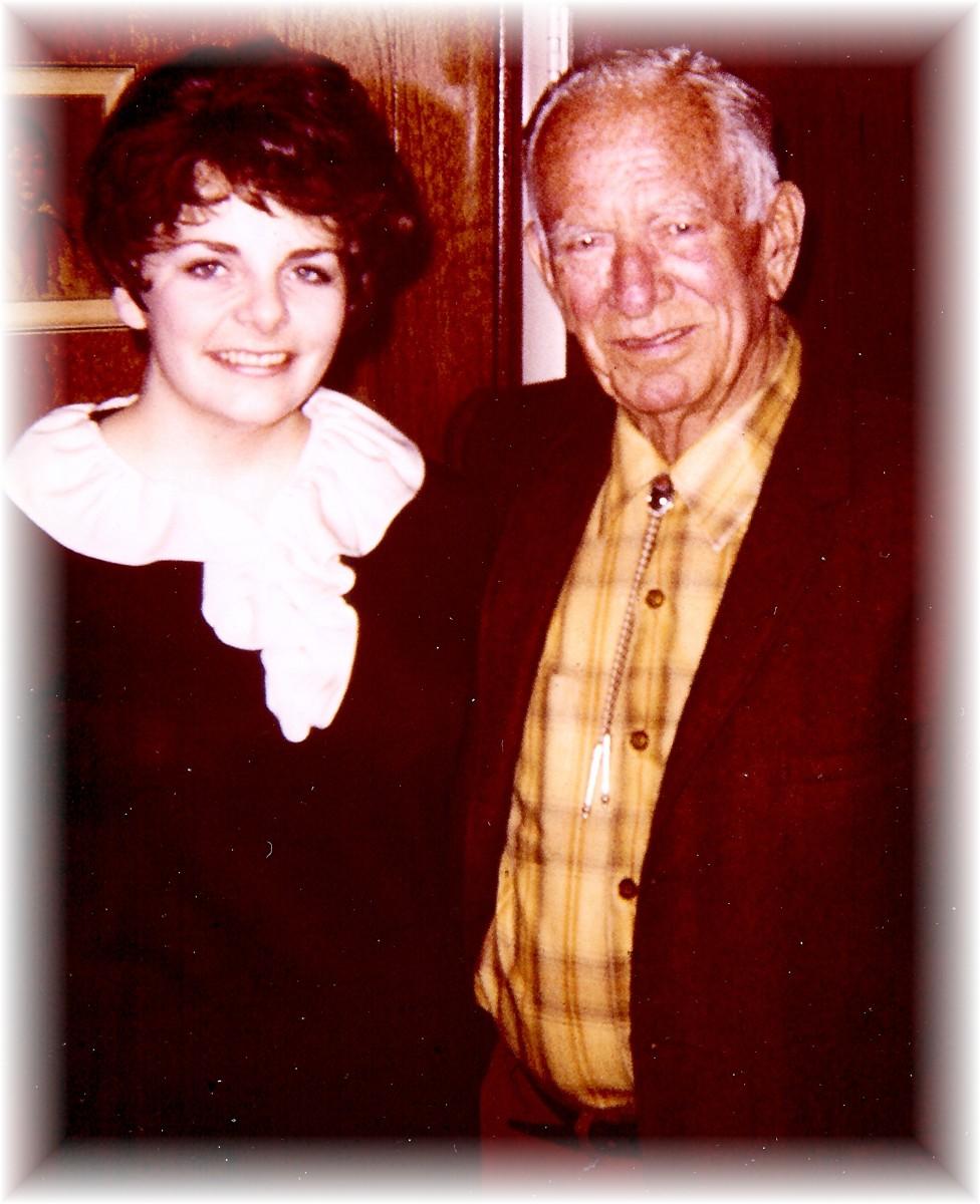 My Grandpa and me
