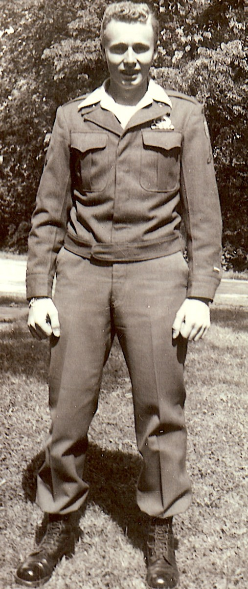 My Dad joined the military during World War 2.  He became a paratrooper.