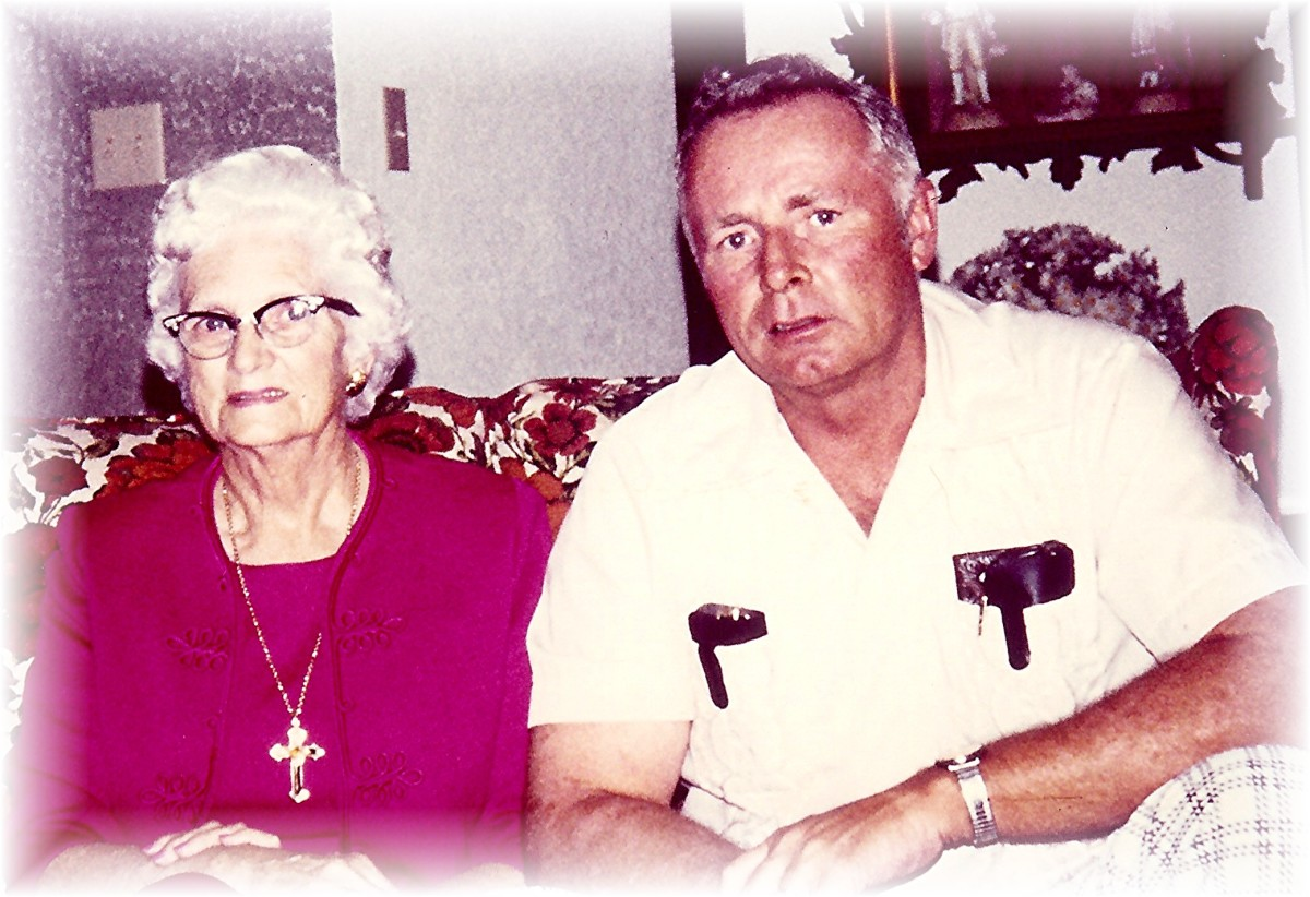 My Dad and my Grandmother