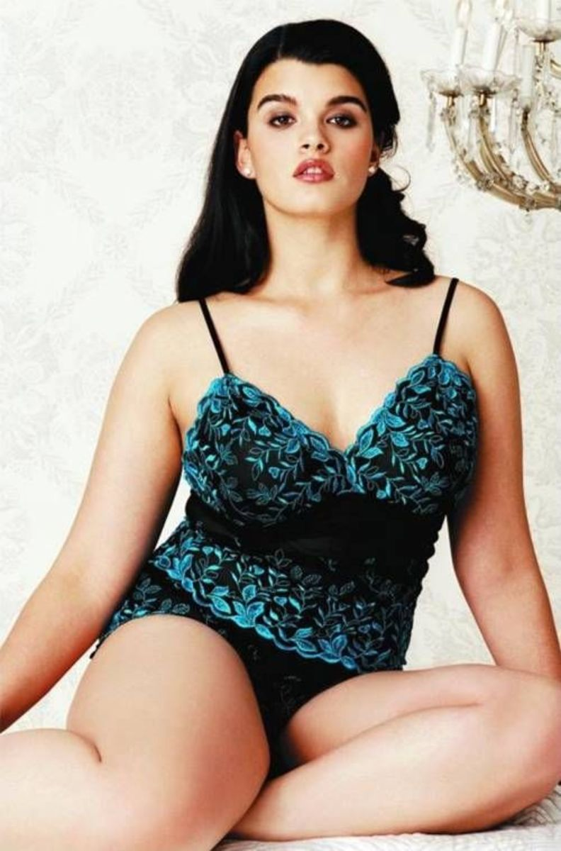 Crystal Renn - Beautiful Plus Size Models