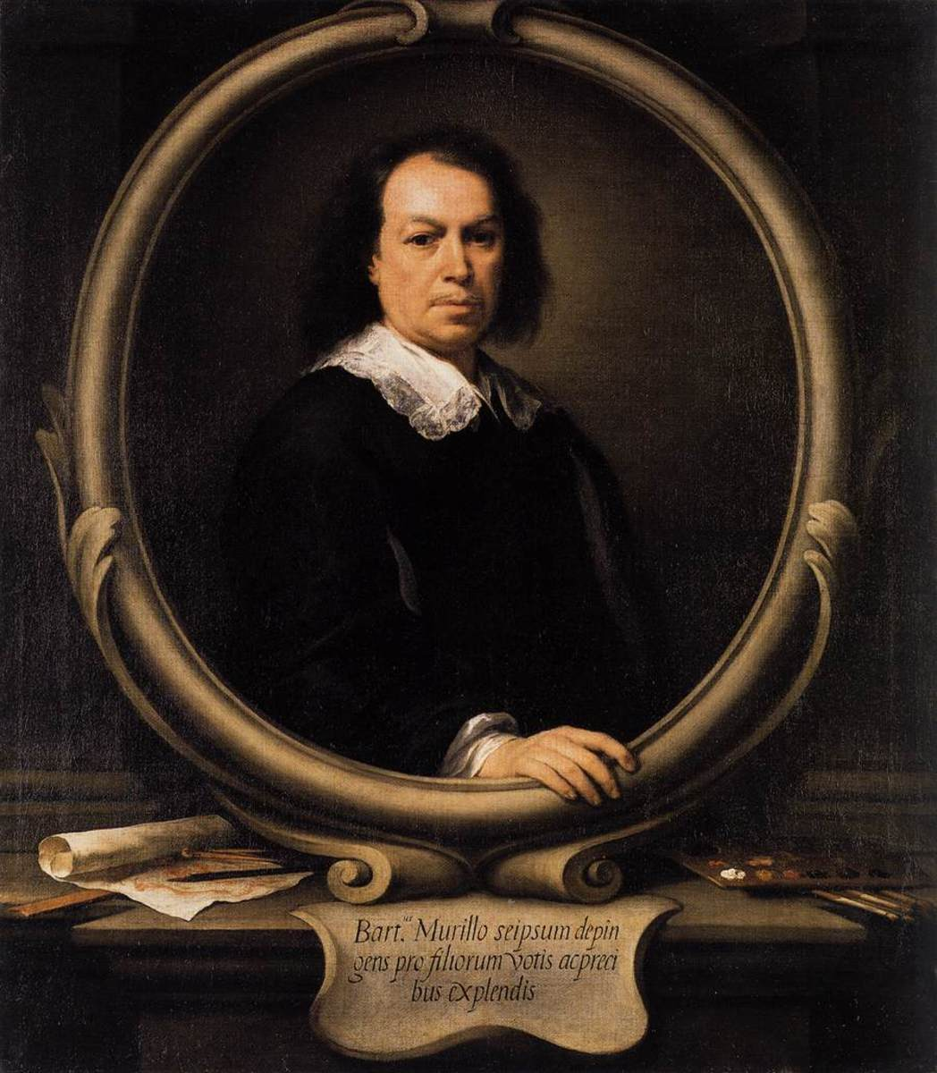 "Murillo ""Self Portrait"" 1671; The National Gallery, London"