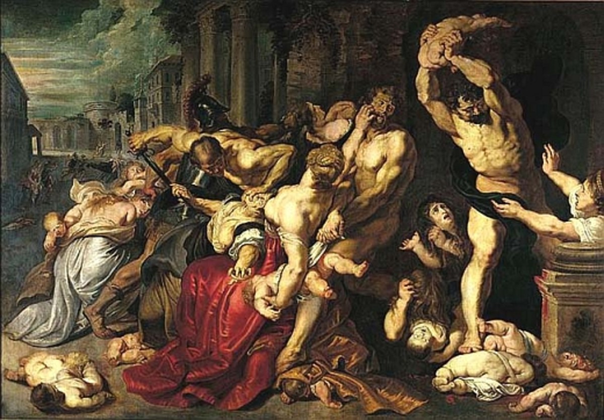 "Peter Paul Rubens ""Massacre of the Innocents"" 1612; Art Gallery of Ontario"