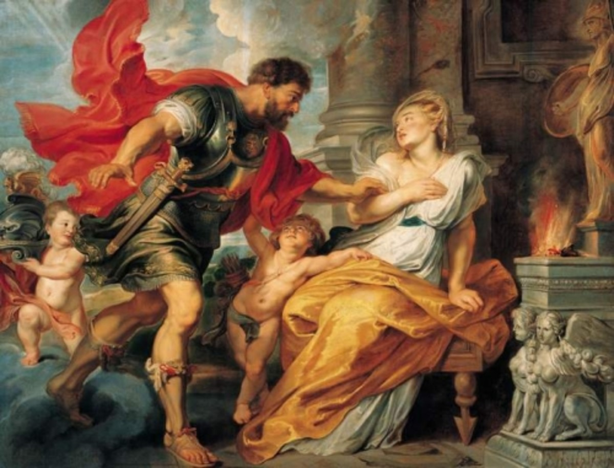"Peter Paul Rubens ""Mars and Rhea Silvia"" 1617; Liechtenstein Museum"