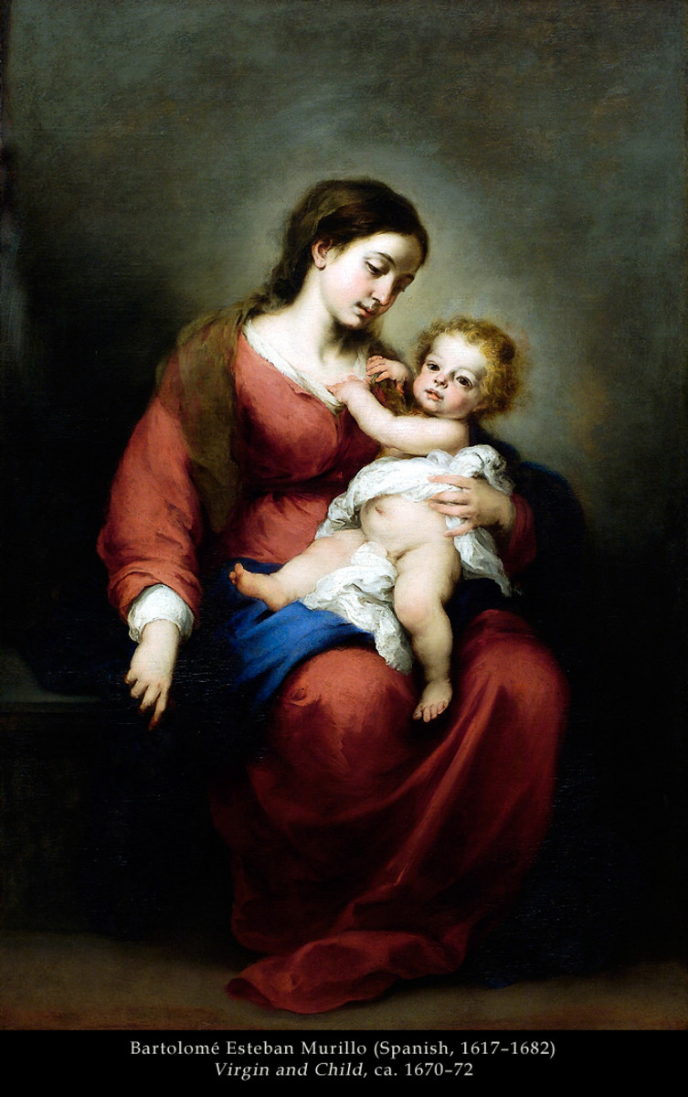 "Murillo ""Virgin and Child"" 1677; Metropolitan Museum of Art, New York"