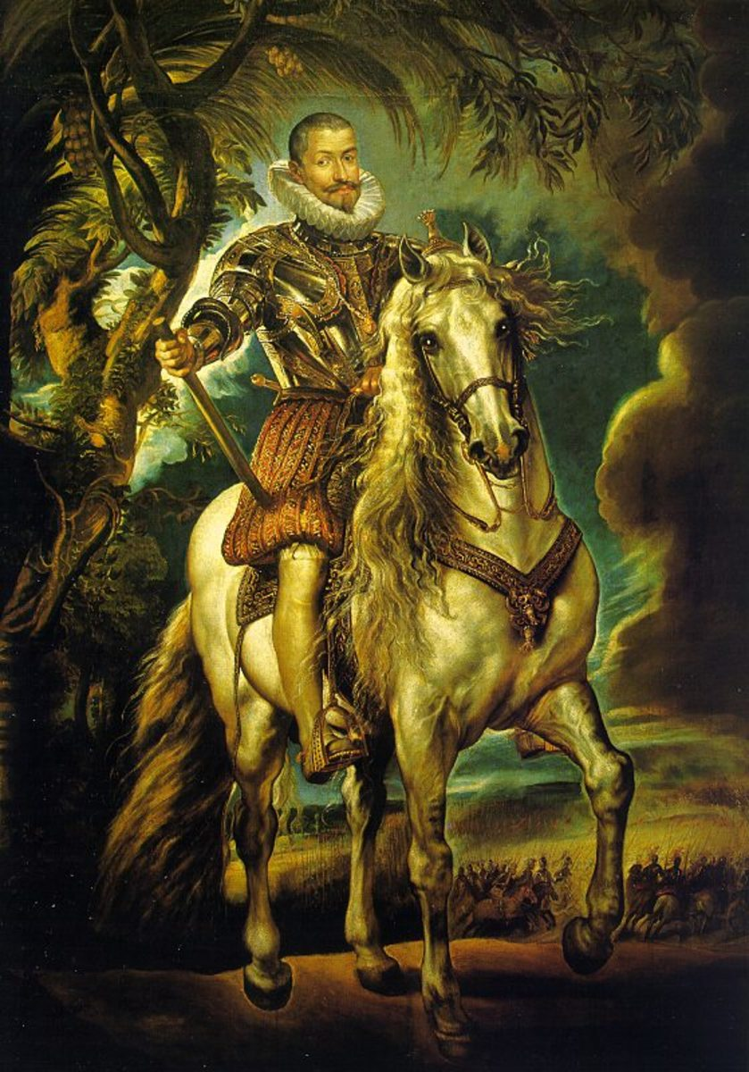 "Peter Paul Rubens ""Equestrian Portrait of the Duke of Lerma"" 1603; Prado, Madrid"