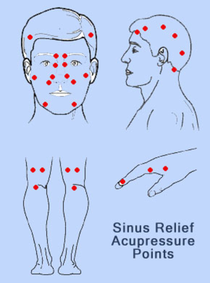Acupressure Points for Sinus Relief