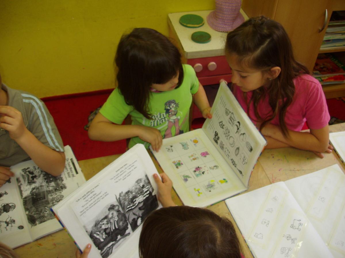 Children love storytelling!