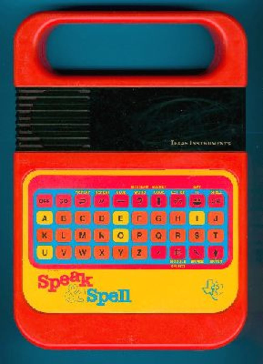 Educational, and good fun! speak and spell it is.