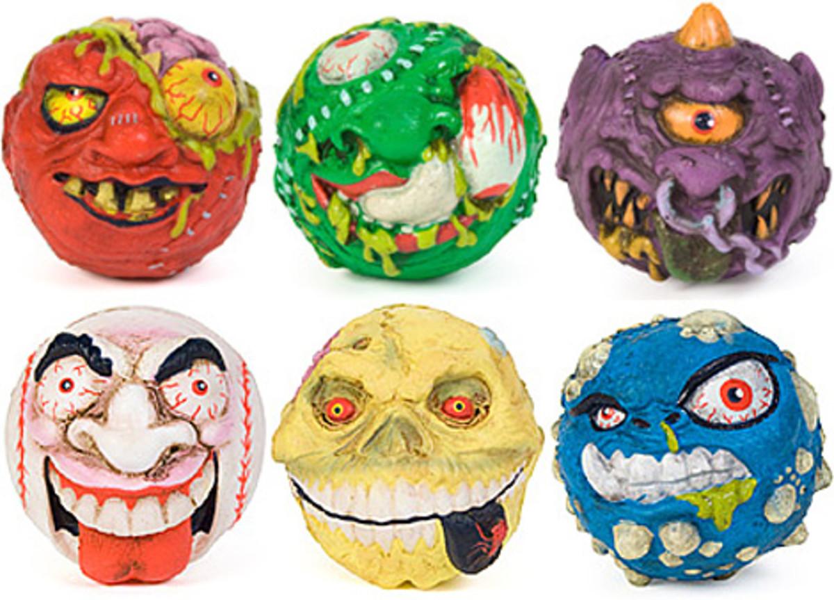 Skull Face, Screamin' Meemie, Slobulus, Hornhead, and Crack Head