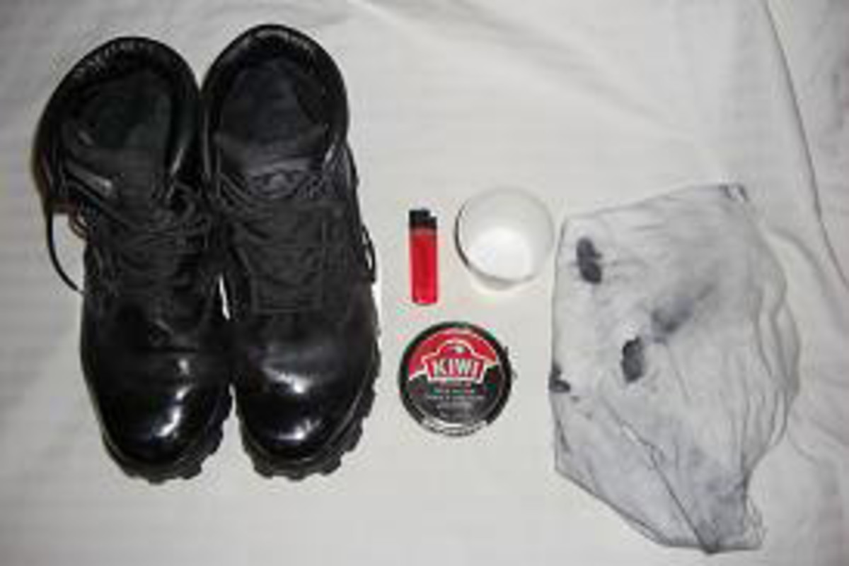 How to Polish Police Boots