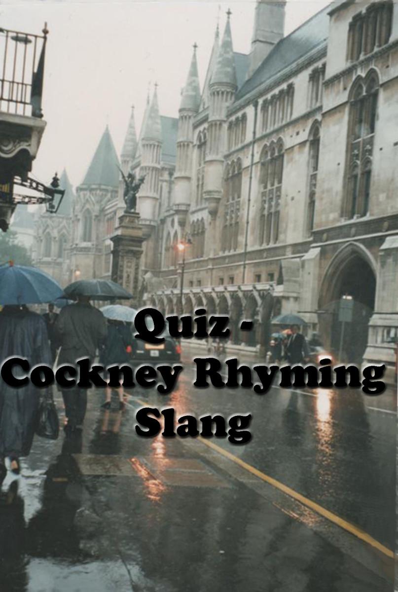Quiz: Cockney Rhyming Slang