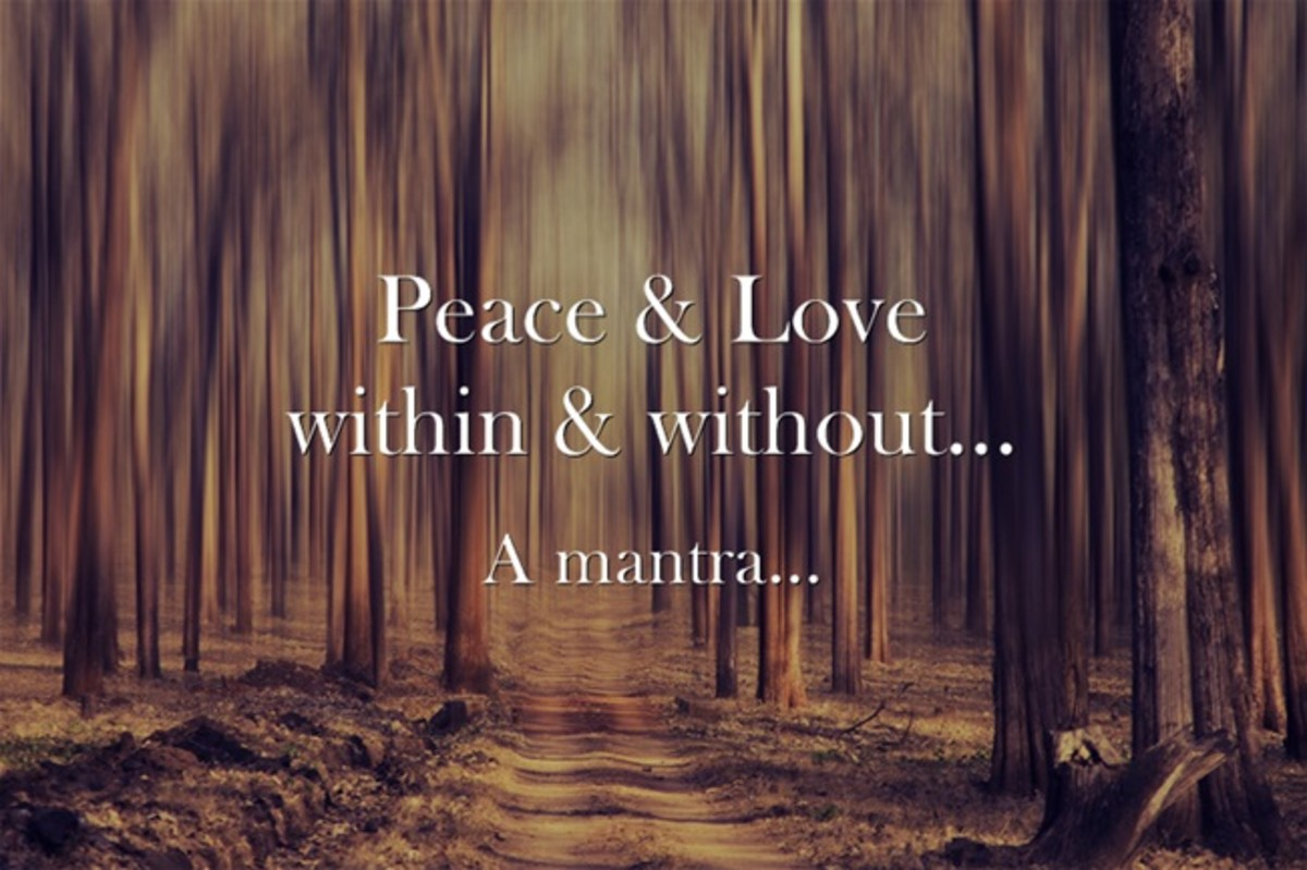 Peace & Love, within & without...