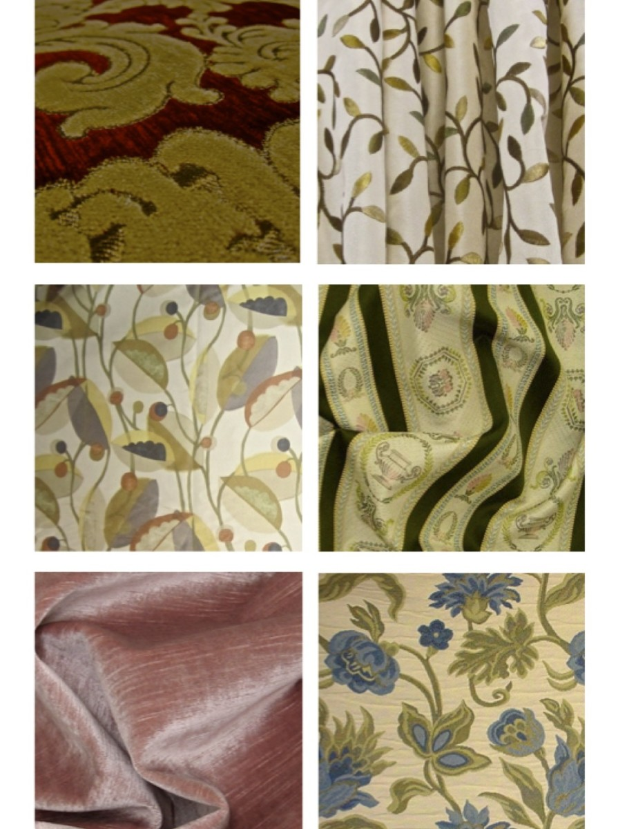Fabrics courtesy of