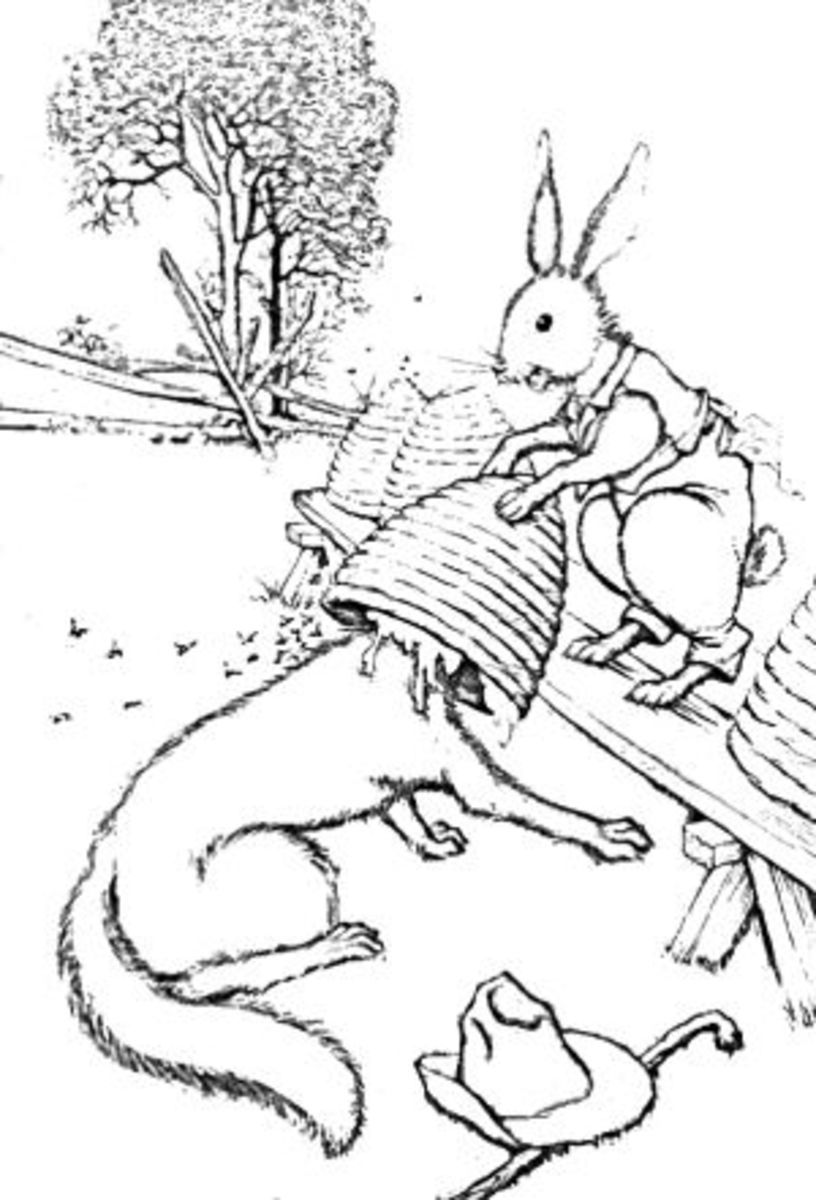 Brer Rabbit Coloring Page