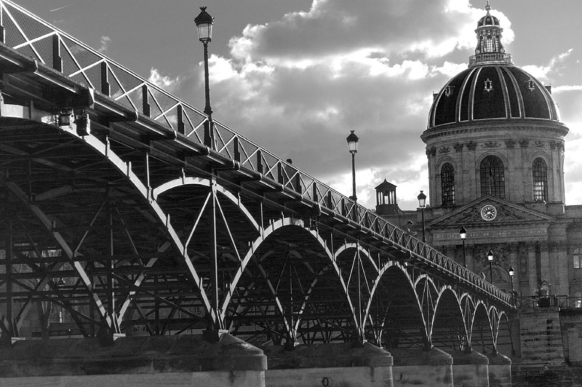 Located in the heart of Paris bridging the Left and Right Bank