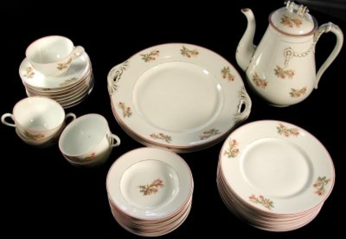 Plates for a Fine Tea Party