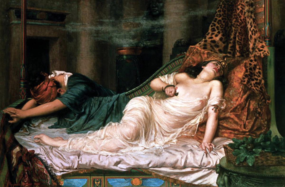 The Death of Cleopatra - Arthur
