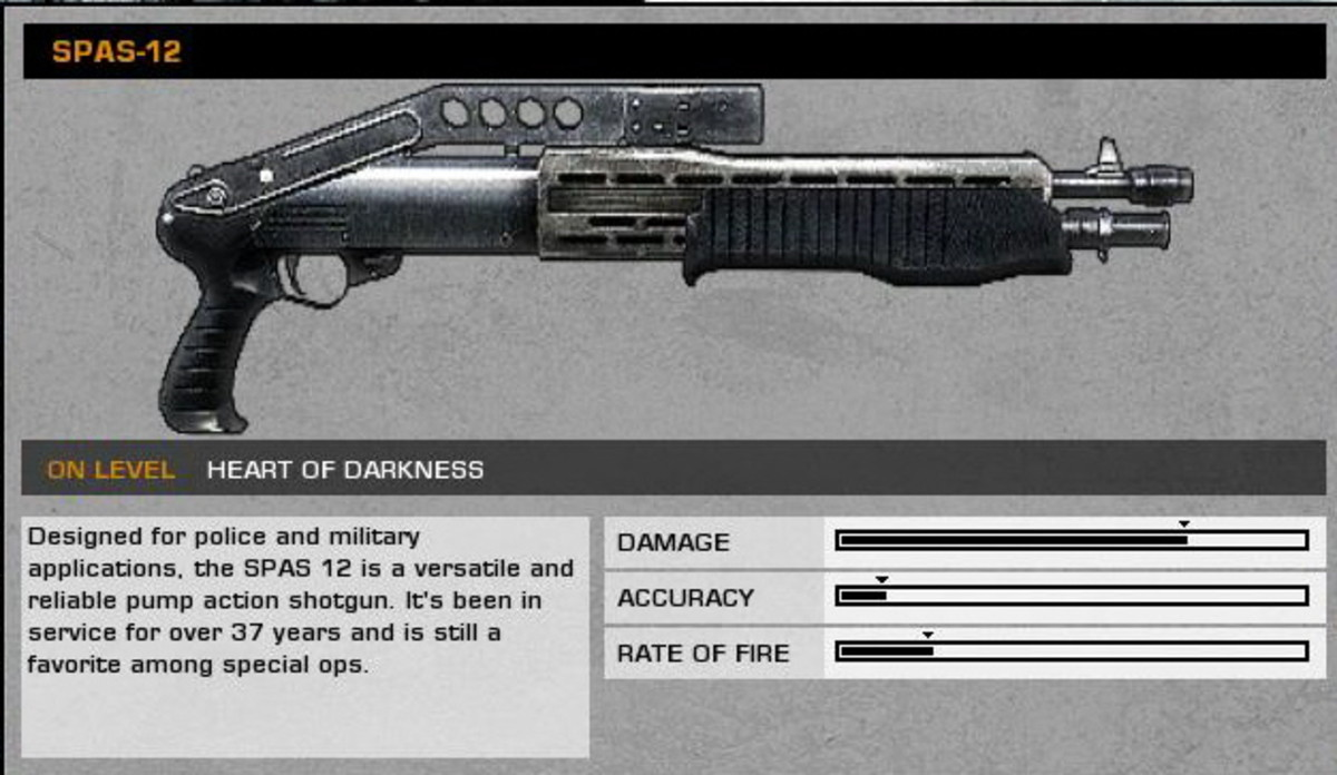 Heart of Darkness: SPAS-12 collectible / collectable.