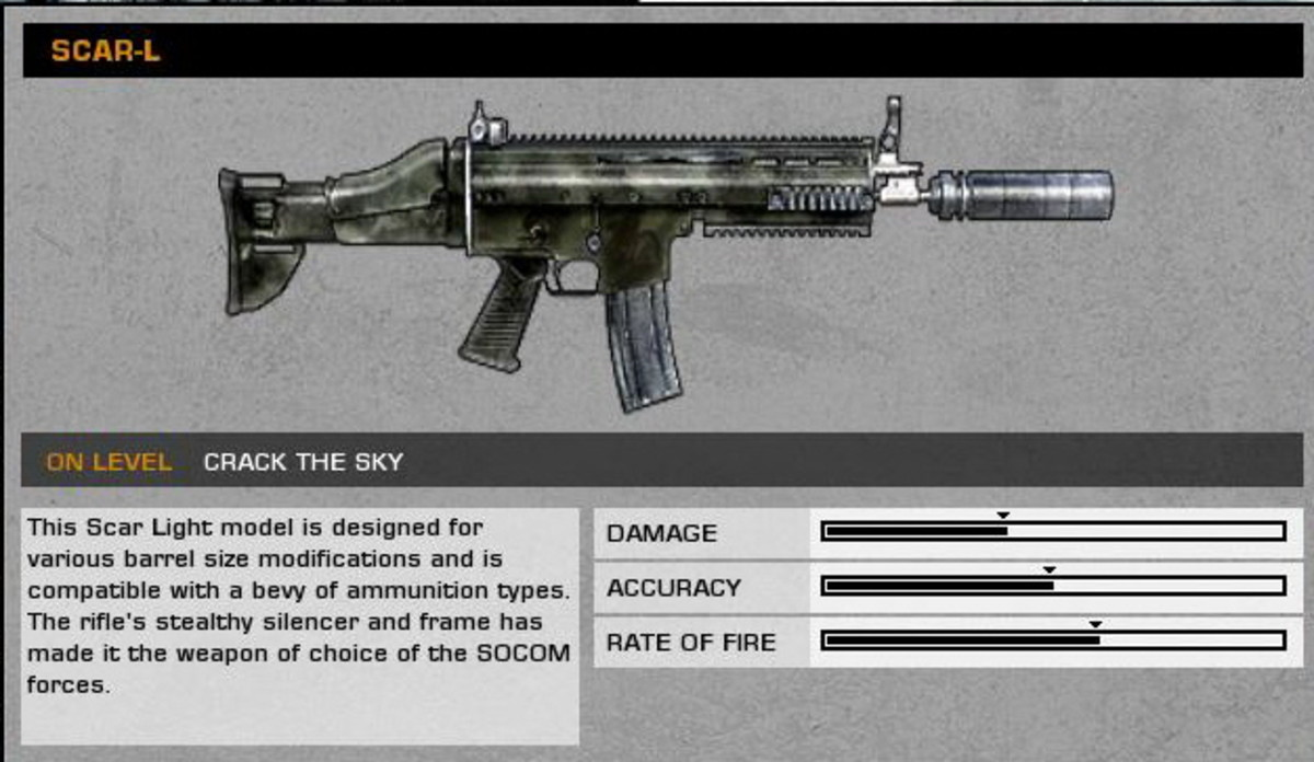 Heart of Darkness: SCAR-L collectible / collectable.