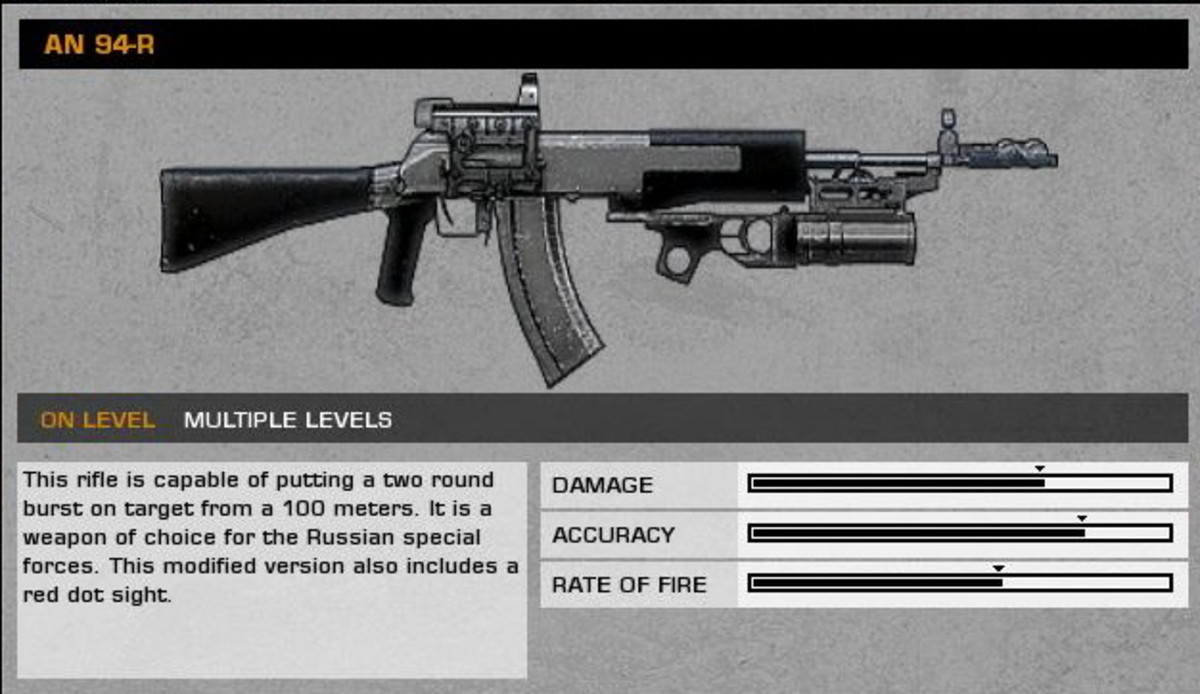 Cold War: AN 94-R collectible / collectable.