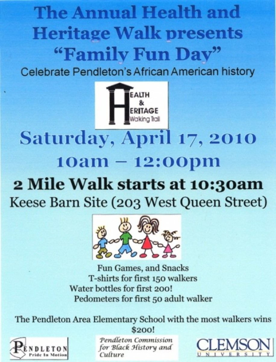 Health and Heritage Walk Family Fun Day