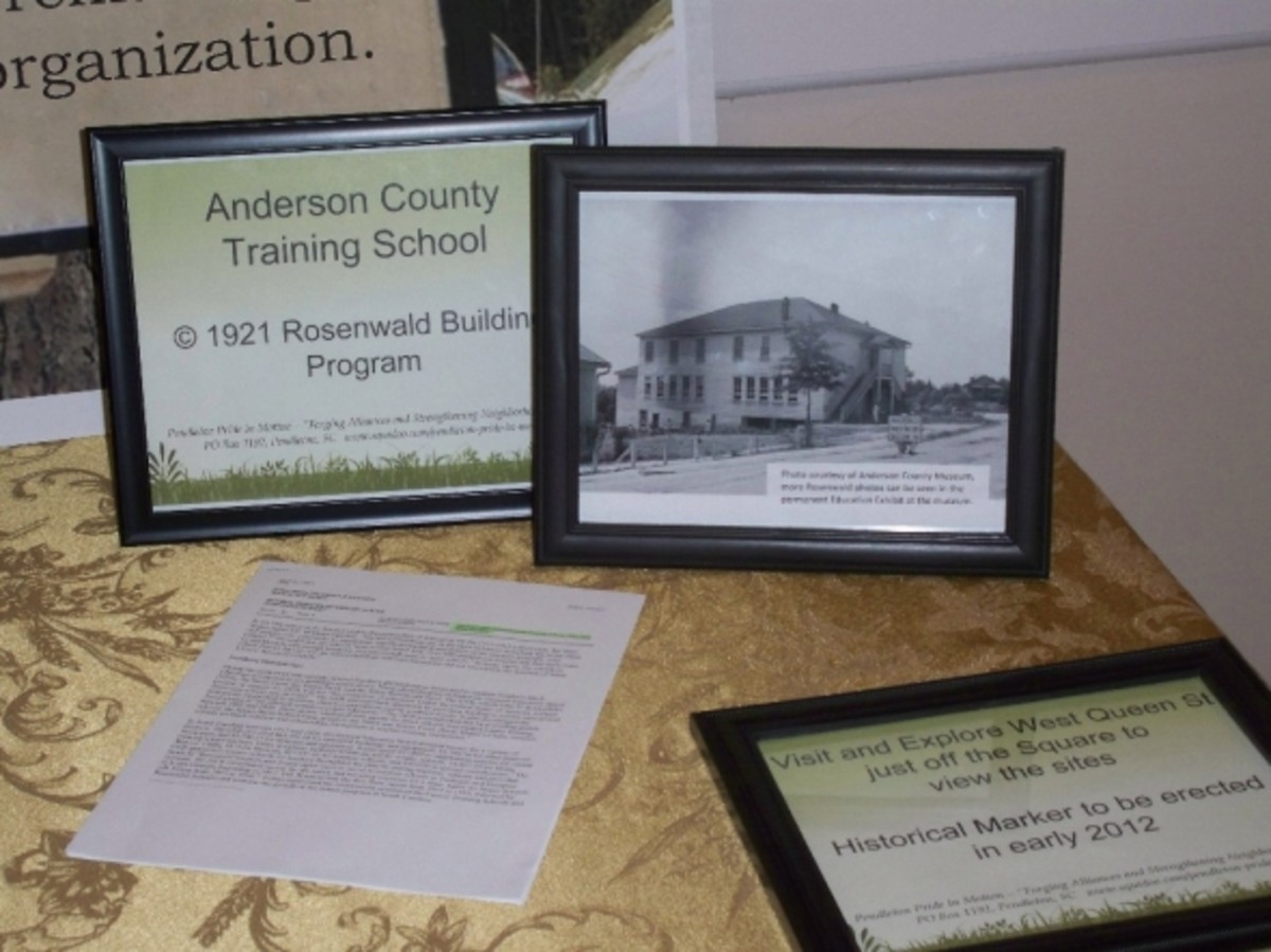 Anderson County Training School picture and description