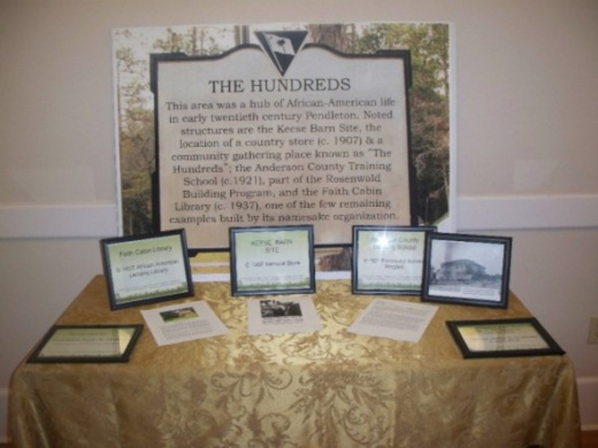The Hundreds Display at Town Hall