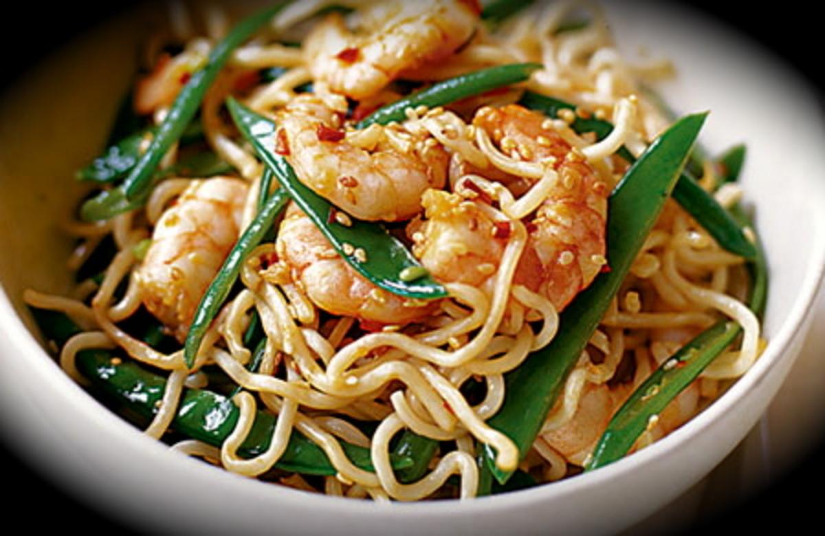 Easy Prawn Noodles
