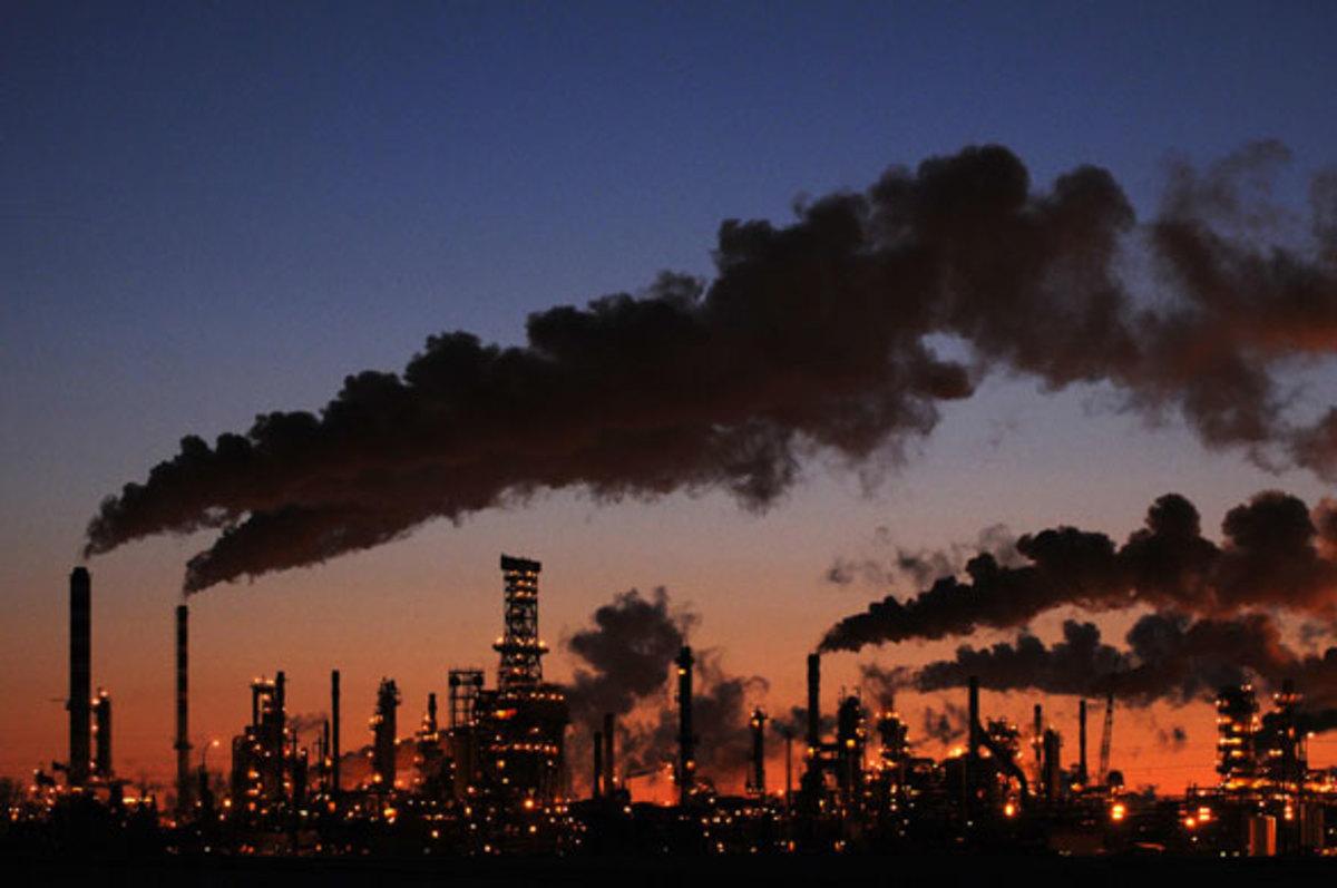 A refinery in Canada