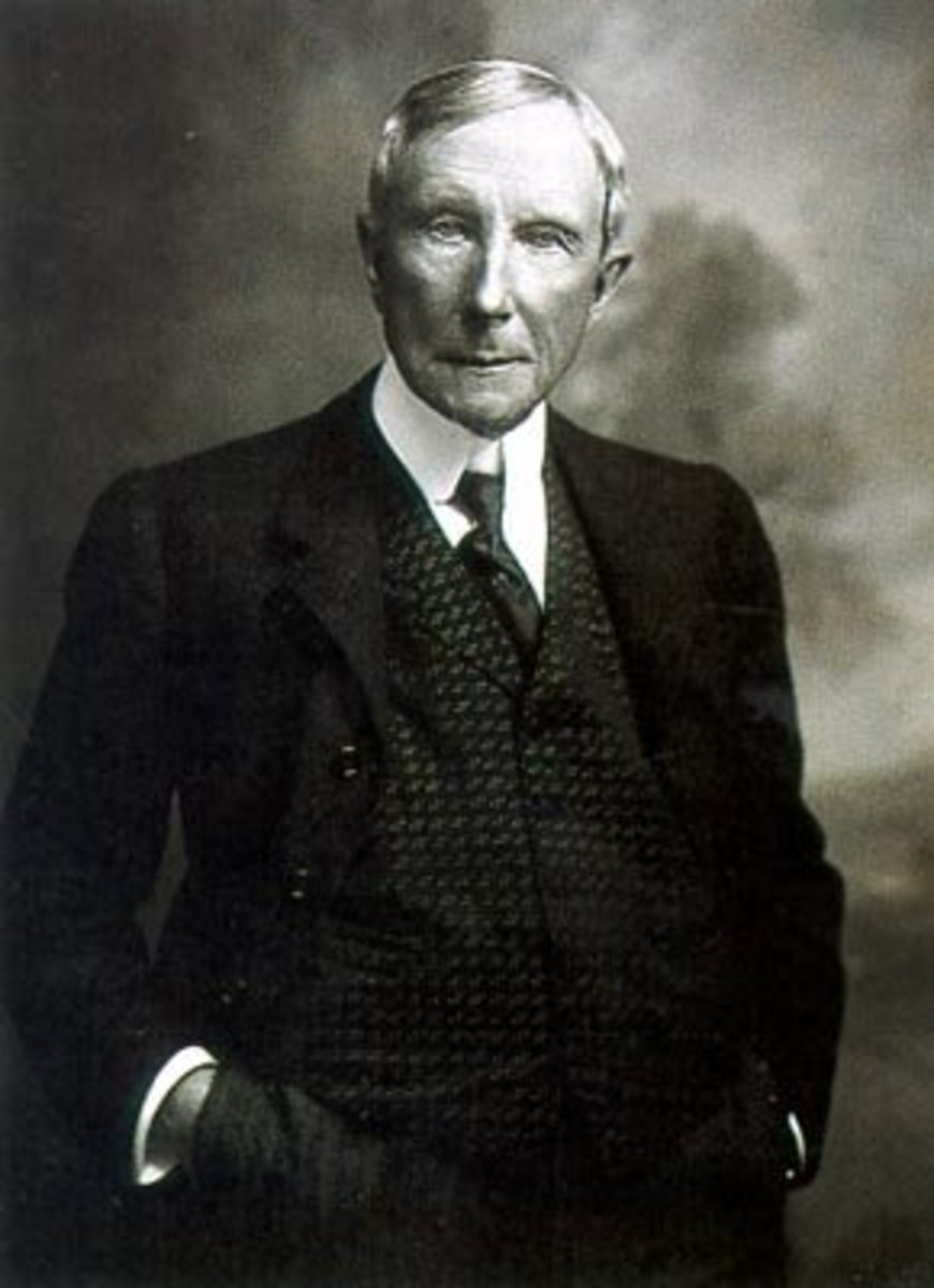 john d rockefeller as a robber baron John d rockefeller was born in richford and some of whom built their careers by fighting rockefeller and the robber barons biographer allan nevins.