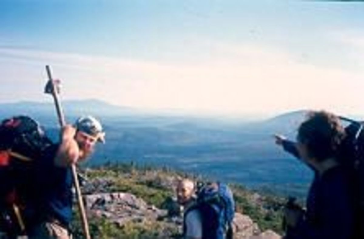 The Appalachian Trail in Maine