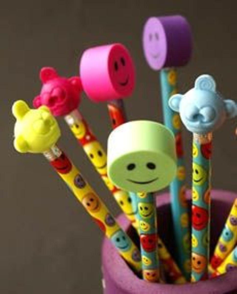 Funny school pencils for teacher gift