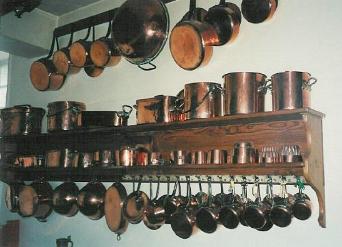 Copper Pots and Pans - Decorating and Collecting