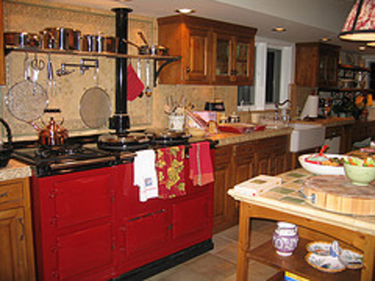 Red, my favorite color for a Aga......All Photos courtesy Flickr