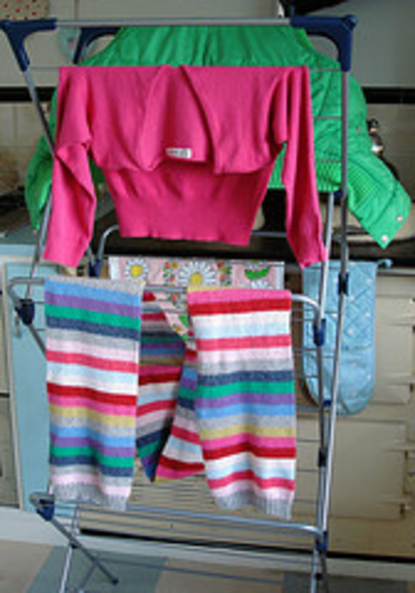 The multipurpose Aga standing in as a Clothes Dryer...... All Photos Courtesy Flickr