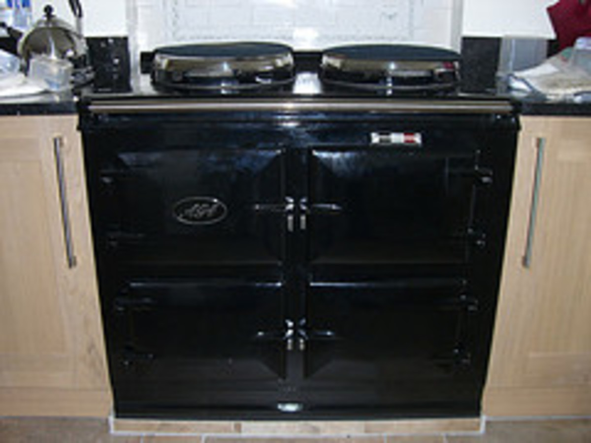 Black Single Oven Ago