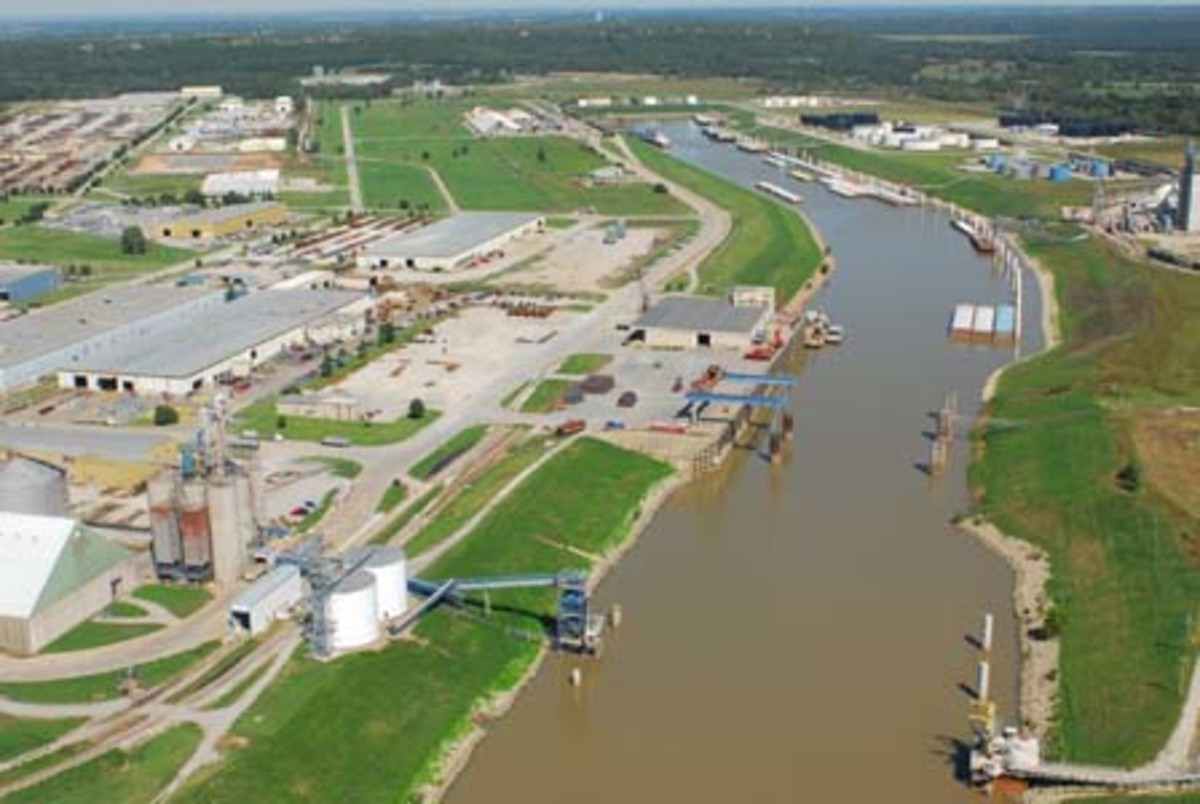 The Port of Catoosa in Oklahoma