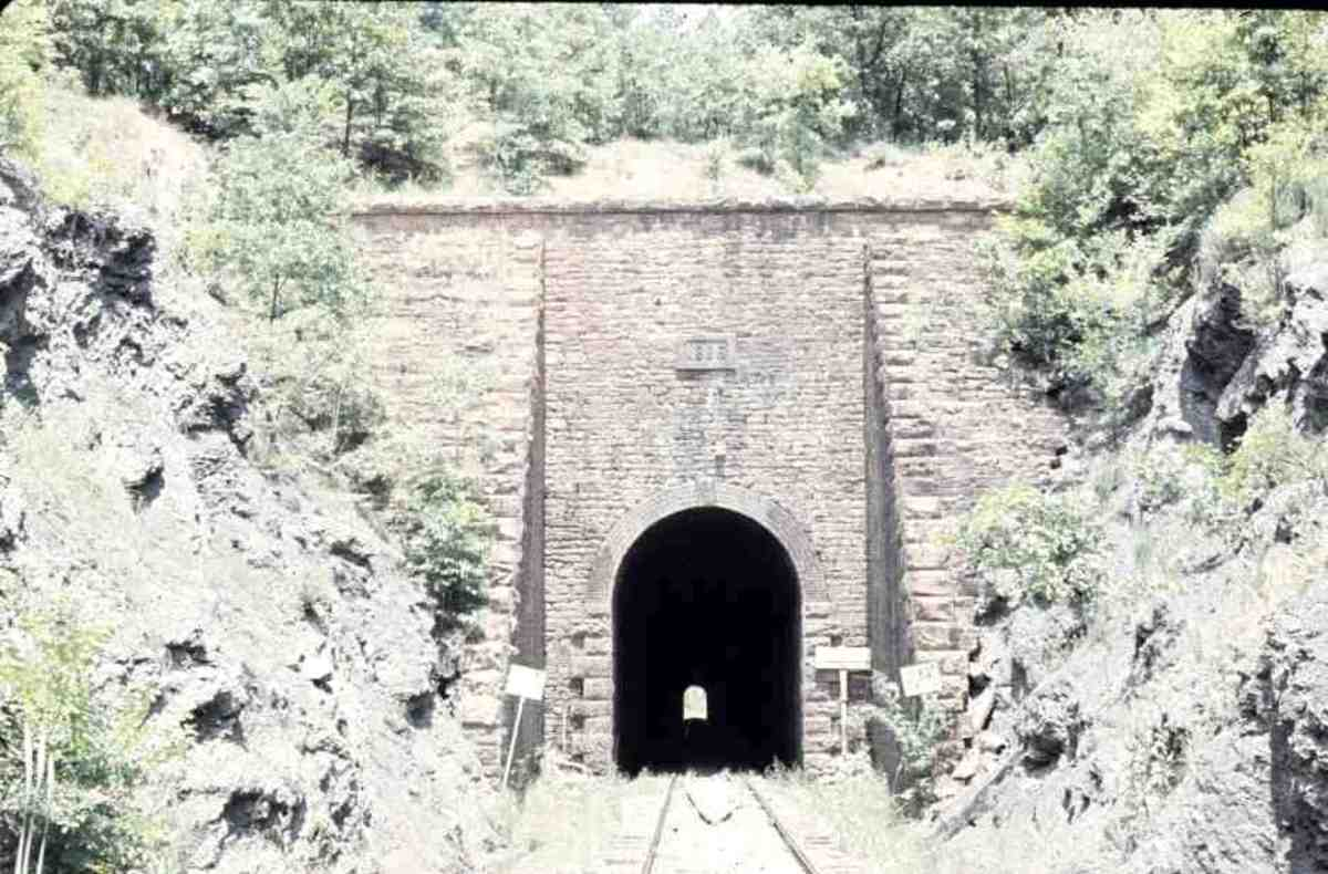 The Jenson Tunnel in Oklahoma