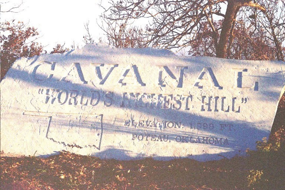 Cavanal Hill (Cavanaugh Hill) in Poteau, Oklahoma