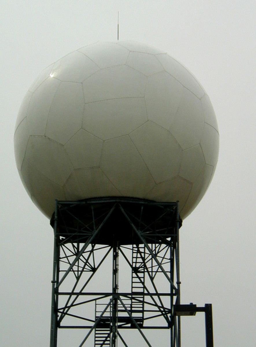 Oklahoma Inventions: NEXRAD (Next Generation Weather Radar) Antenna